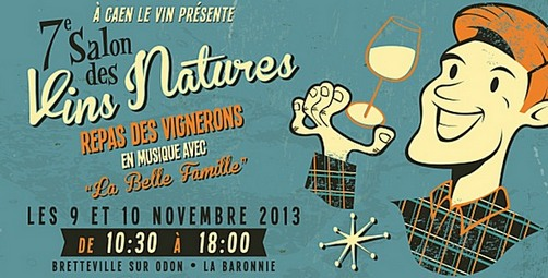 Salon Vins Nature - Caen - Normandie - proche Le Mont Saint-Michel