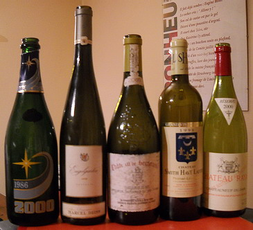 Grands Vins de Fêtes - Champagne - Vins - Christmas great wines and champagne