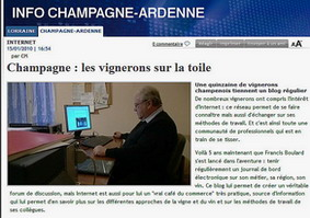 Reportage TV France 3 Champagne - Vignerons blogs