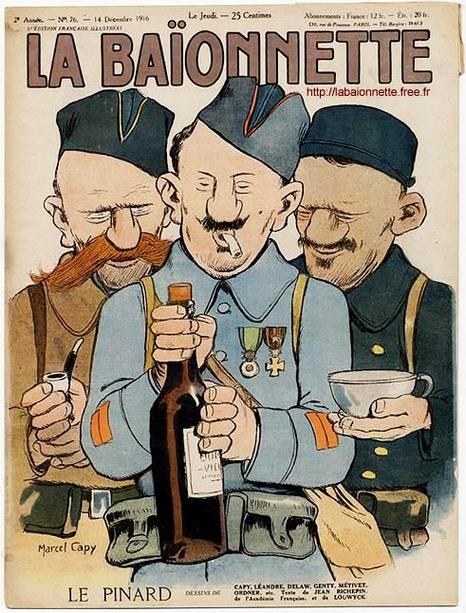 1915 pinard baionette